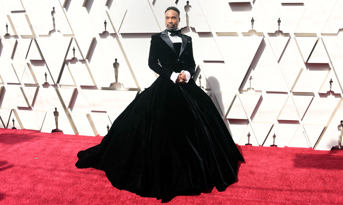 OMG! Billy Porter arrived at the Oscars wearing a...tux dress?
