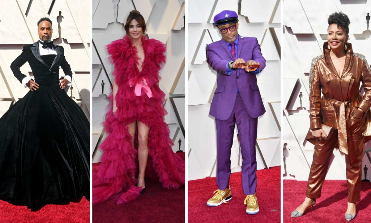 From Billy Porter's tux-gown to Linda Cardellini's pink ruffled dress, see the most extravagant looks from the Oscars 2019 red carpet