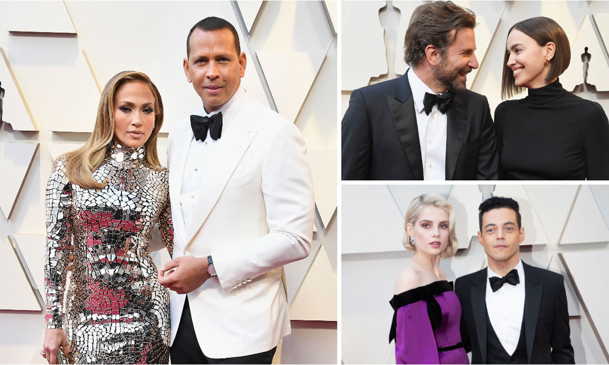 Oscars 2019: J-Rod, Bradley Cooper, Irina Shayk and more celebrity couples on the carpet