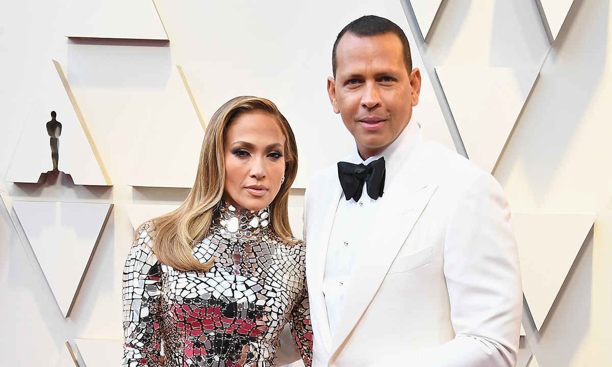 Jennifer Lopez and Alex Rodriguez shut it down on their first Oscars together as J-Rod