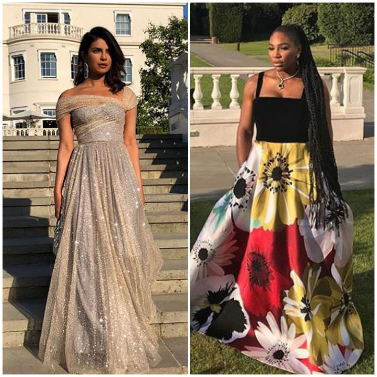 Priyanka, Serena and the lucky guests turn up their style for Meghan and Harry's evening party