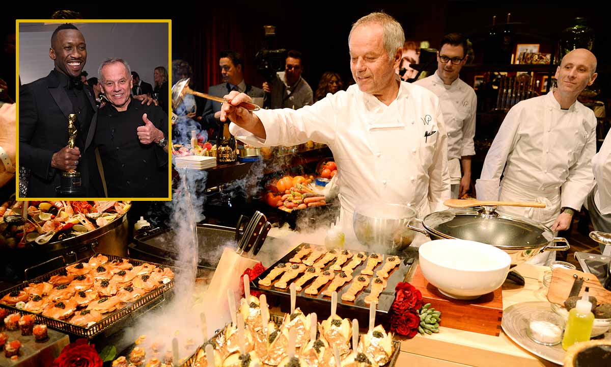 Oscars chef Wolfgang Puck dishes behind-the-scenes celebrity secrets with HOLA! USA