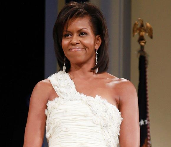 Michelle Obama, un 'look' cuidado y muy natural