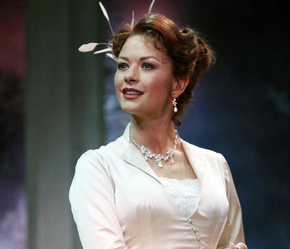 Catherine Zeta-Jones, bajo los focos de Broadway