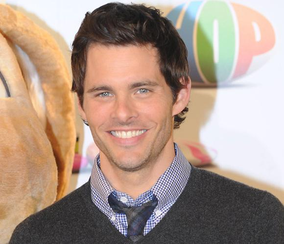 El actor James Marsden ha sido papá por tercera vez