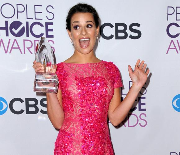 Lea Michele deslumbra en los premios People Choice