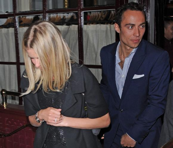 James Middleton y Donna Air hacen público su romance