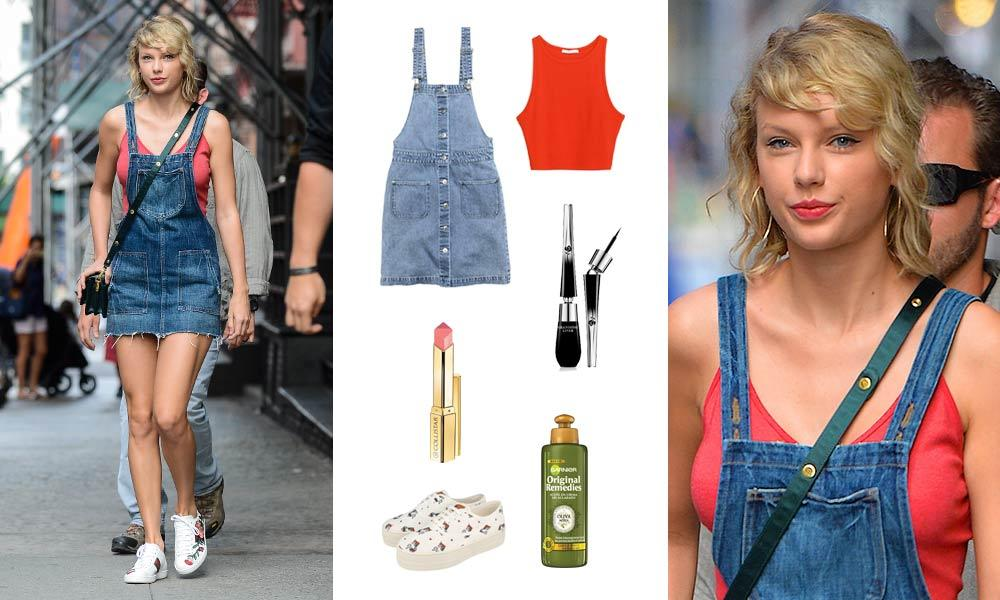 Consigue el 'look' de... Taylor Swift