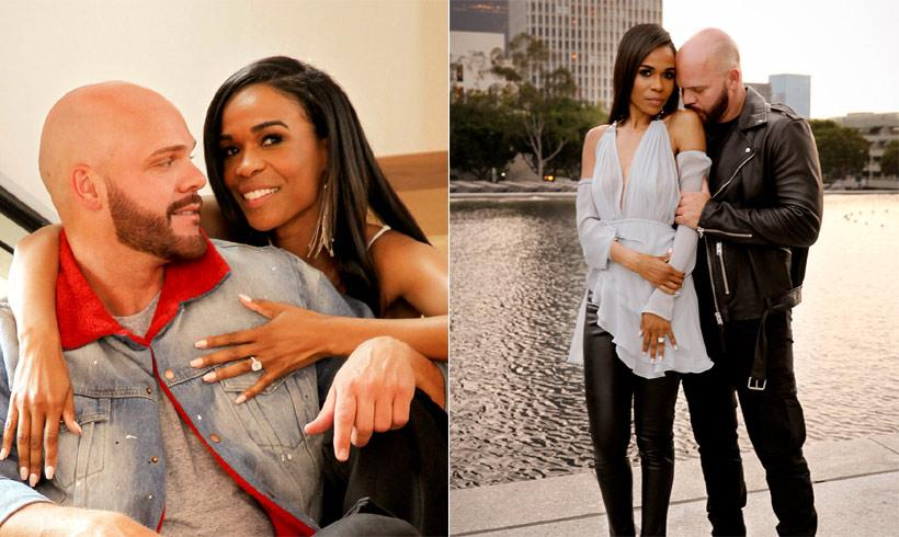 Michelle Williams y su novio, Chad Johnson, se han comprometido
