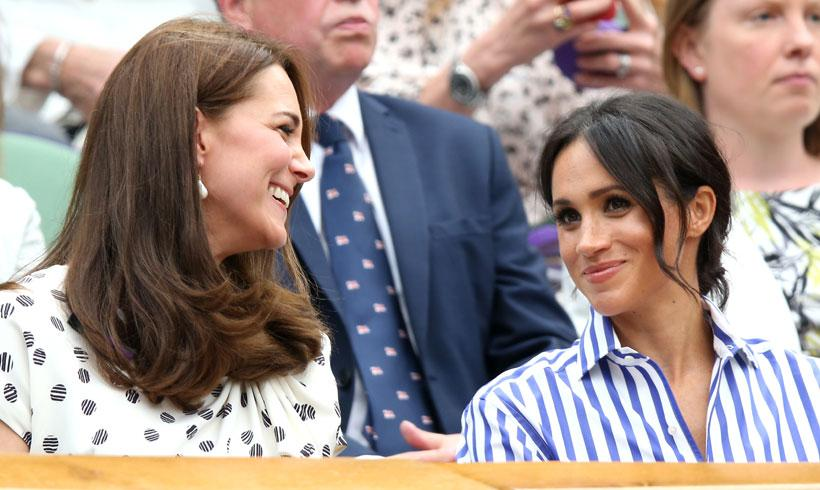 Las Duquesas de Cambridge y Sussex, día de chicas en Wimbledon