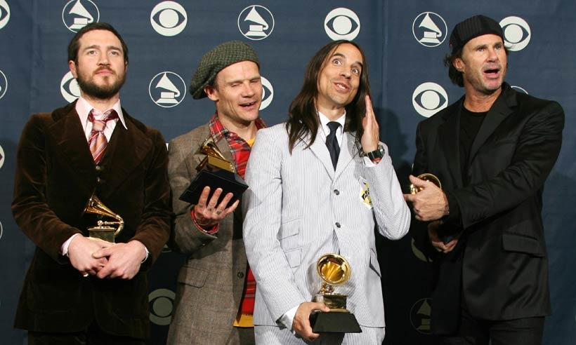 Red Hot Chili Peppers prepara un gran concierto en un lugar muy especial
