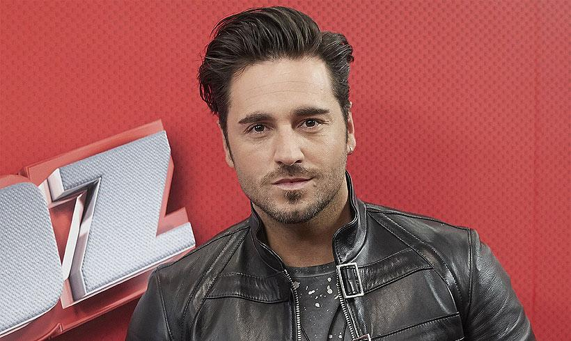 David Bustamante, nuevo 'coach' de 'La voz senior'